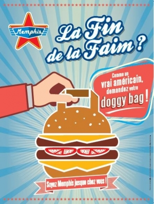 Affiche promotionnelle Doggy bag (Memphis)