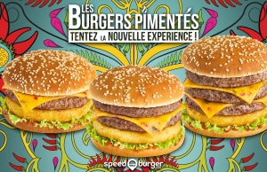 Speed burger / Opération novembre 2017